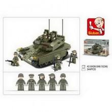 MADE SLUBAN Kostky tank 344 ks