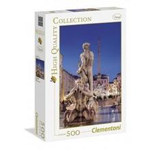 CLEMENTONI puzzle 500 Piazza Navona Řím