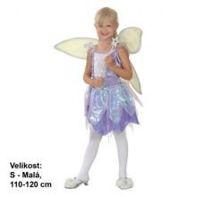 Šaty na karneval - Víla 110-120 cm