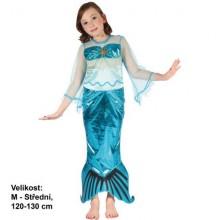 Karnevalový kostým Mořská panna 120-130