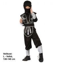 MADE Šaty na karneval - Ninja 130 - 140 cm