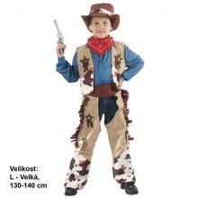 MADE Šaty na karneval - Kovboj 130 - 140 cm