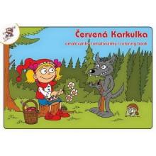 Omalovánky ČERVENÁ KARKULKA