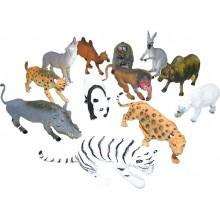 RAPPA Zvířata divoká SAFARI 17-26cm