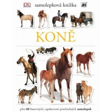 JM MODELS Naučná samolepková knížka Koně