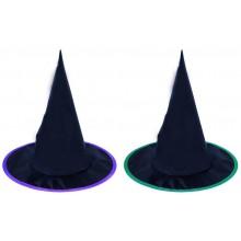 Klobouk čarodějnický dětský 2 druhy