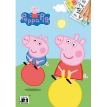 Omalovánky A5+ Peppa PIG