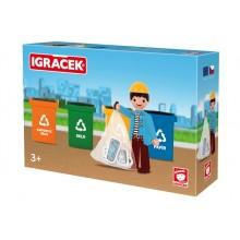 IGRÁČEK TRIO-Třídíme odpad