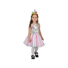 Šaty na karneval jednorožec