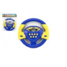 Volant modrý plast 20cm na baterie se zv