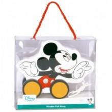 Derrson Disney Dřevěný tahací Mickey