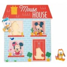 Derrson Disney Dřevěné puzzle Domeček