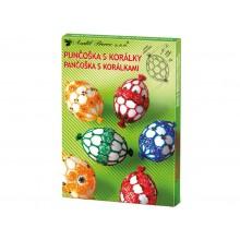 Sada k dekorování vajíček -punčoška