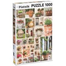 Puzzle Květináče 1000 dílků