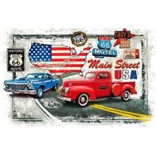Puzzle Old Route 66 1000 dílků