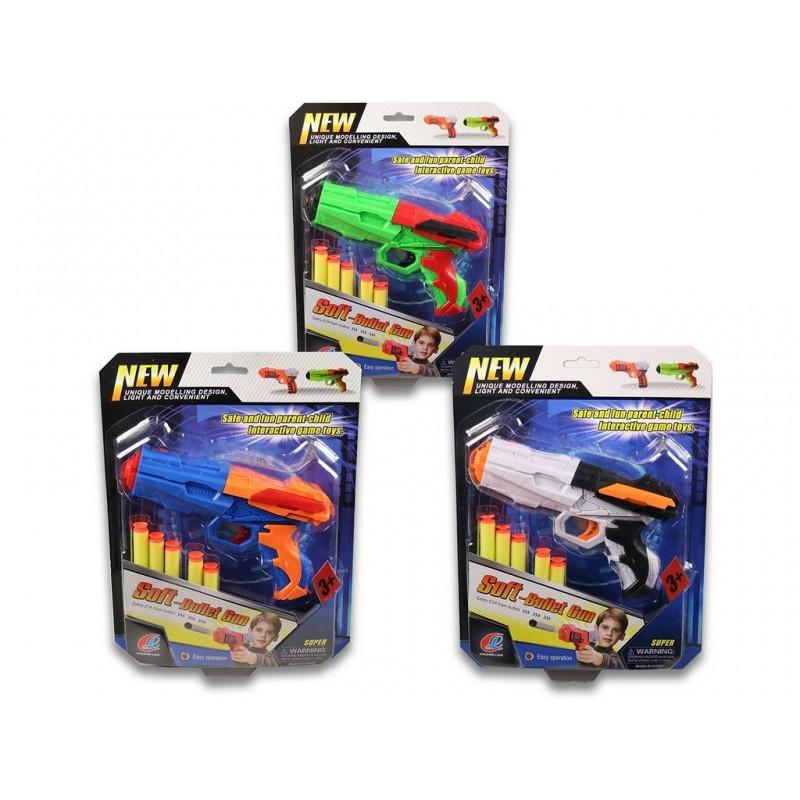 Pistole se softovými nábojemi