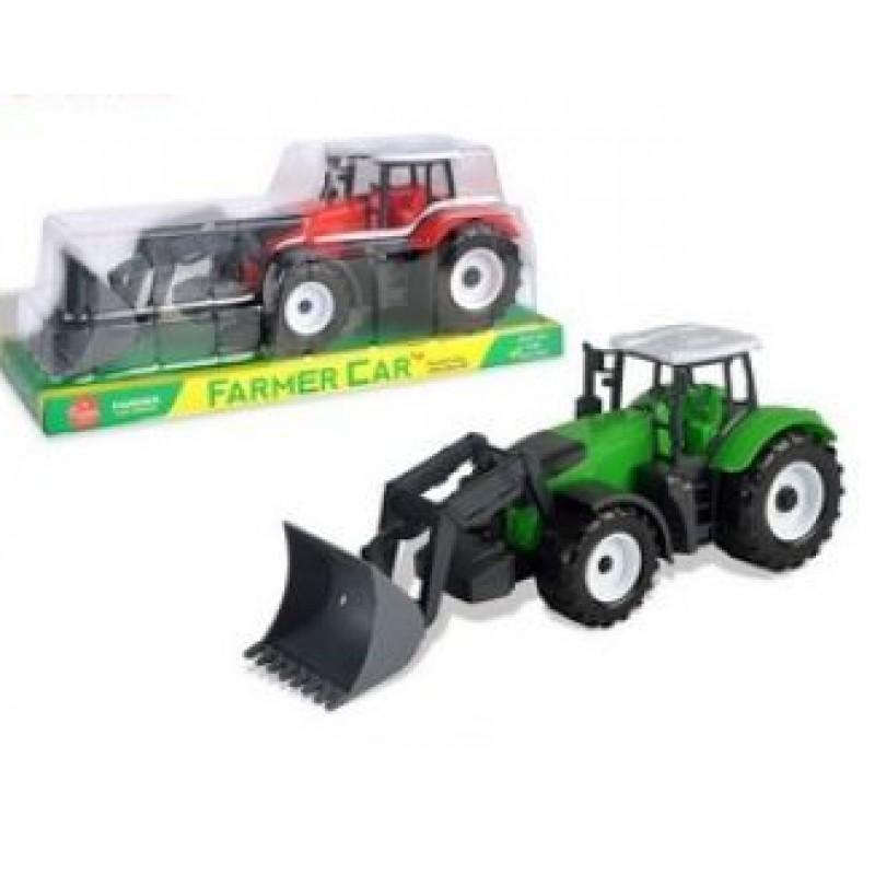 Traktor na setrvačník s nástrojem