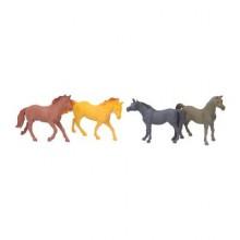 WIKY Koně set 4ks 14cm