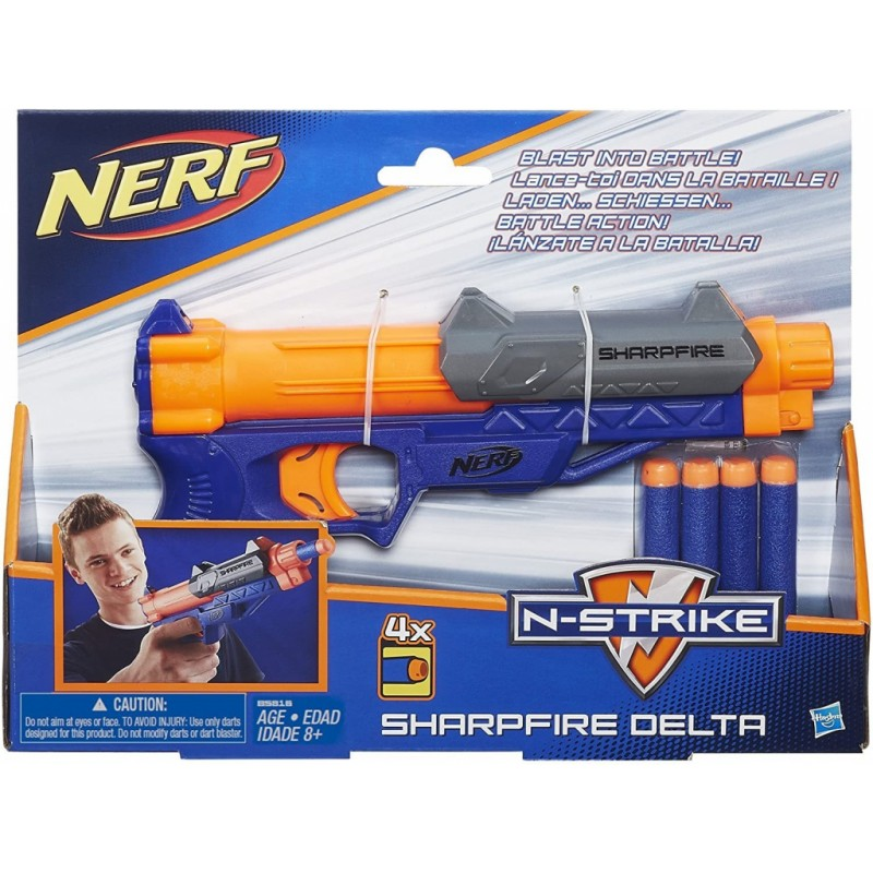 HASBRO Nerf Sharpfire Delta