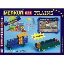 MERKUR TOYS Merkur 031 -železniční modely