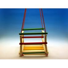 Houpačka dřevěná barevná BACZEK
