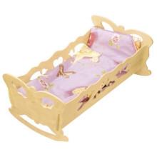 BACZEK Kolébka dřevěná pro panenky
