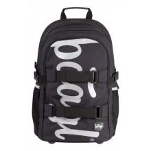 PRESCO GROUP Školní batoh skate Black