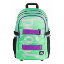 PRESCO GROUP Školní batoh skate Mint