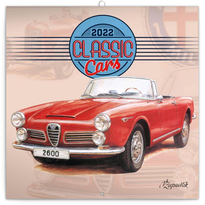 PRESCO GROUP Poznámkový kalendář Classic Cars - Václa