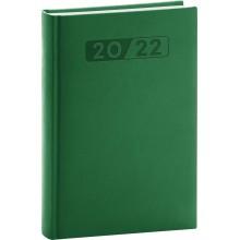 PRESCO GROUP Denní diář Aprint 2022, zelený, 15 21