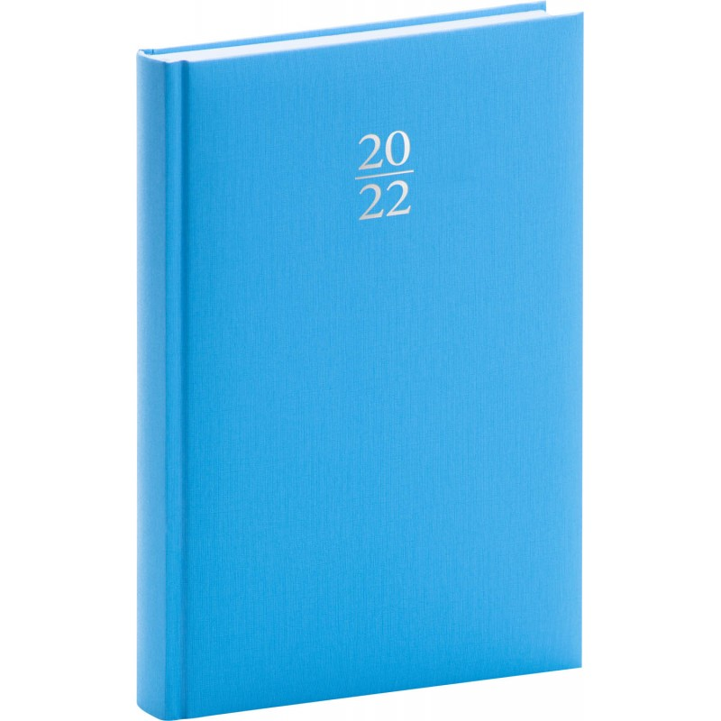 PRESCO GROUP Denní diář Capys 2022, světle modrý, 15