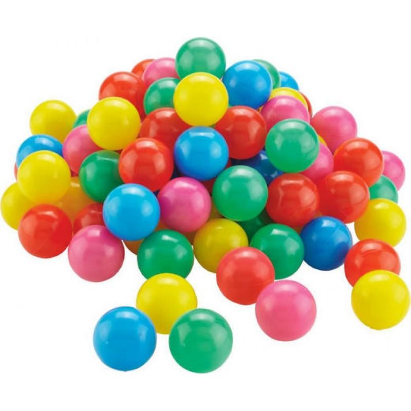 Barevní míčky v pvc tašce 50ks