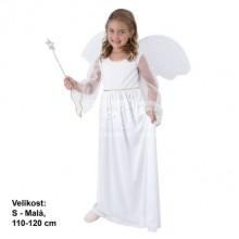 Dětský kostým Andílek 4-6 let