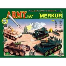 Vojenská stavebnice MERKUR Army Set