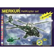 MERKUR Helicopter Set - Helikoptéra