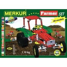 Speciální stavebnice MERKUR Farmer Set