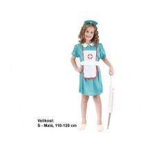 Dětský karnevalový kostým SESTŘIČKA 110 - 120cm ( 4 - 6 let )
