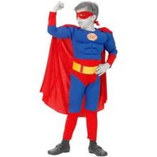 Karnevalový kostým - Superman 120-130cm (5-9let)