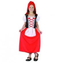 Dětský karnevalový kostým KARKULKA 110-120cm