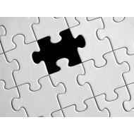 Puzzle papír